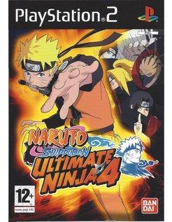 NARUTO SHIPPUDEN ULTIMATE NINJA 4 für Playstation 2 PS2