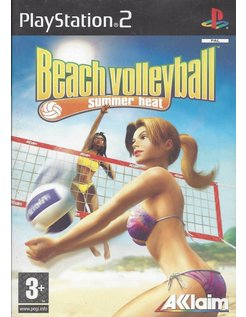 SUMMER HEAT BEACH VOLLEYBALL voor Playstation 2