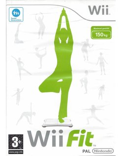 Wii FIT voor Nintendo Wii - manual in Nederlands