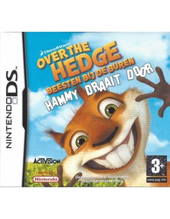 OVER THE HEDGE BEESTEN BIJ DE BUREN HAMMY DRAAIT DOOR - Nintendo DS