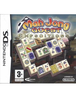MAHJONG QUEST EXPEDITIONS voor Nintendo DS