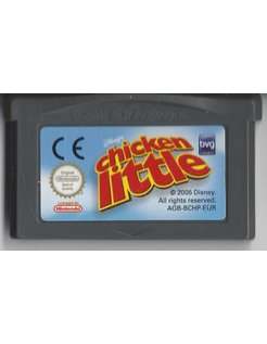 CHICKEN LITTLE voor Game Boy Advance GBA