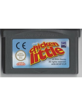 CHICKEN LITTLE für Game Boy Advance GBA
