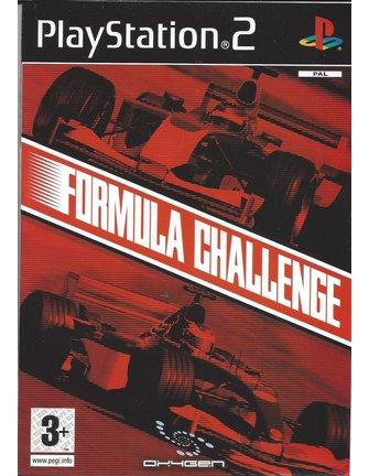 FORMULA CHALLENGE voor Playstation 2 PS2 - manual in NL