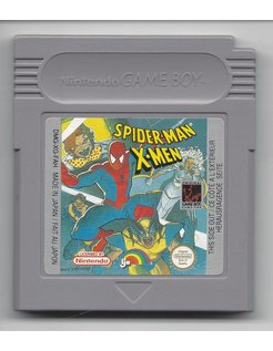 SPIDER-MAN X-MEN for Nintendo Game Boy