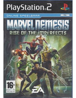 MARVEL NEMESIS RISE OF THE IMPERFECTS für Playstation 2 PS2