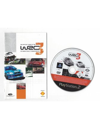 WRC 3 - FIA WORLD RALLY CHAMPIONSHIP for Playstation 2 PS2