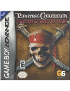 PIRATES OF THE CARIBBEAN THE CURSE OF THE BLACK PEARL voor Game Boy Advance