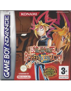 YU-GI-OH RESHEF OF DESTRUCTION voor Game Boy Advance