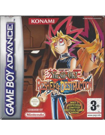 YU-GI-OH RESHEF OF DESTRUCTION voor Game Boy Advance GBA