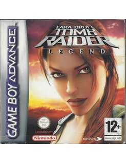 LARA CROFT TOMB RAIDER LEGEND voor Game Boy Advance