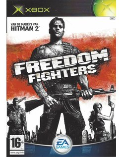 FREEDOM FIGHTERS voor Xbox - manual in NL