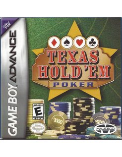 TEXAS HOLD 'EM POKER für Game Boy Advance