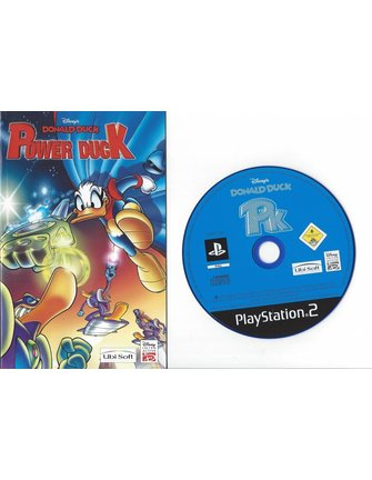 DONALD DUCK POWER DUCK voor Playstation 2 PS2