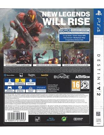 DESTINY 2 voor Playstation 4 PS4