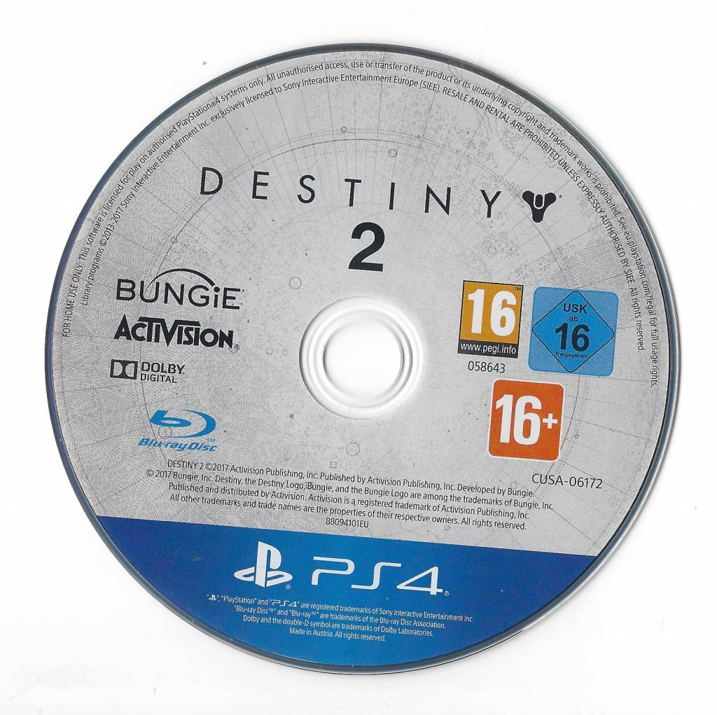Destiny 2 for Playstation 4 PS4 - Passion for Games Webshop