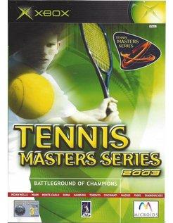 TENNIS MASTERS SERIES 2003 voor Xbox