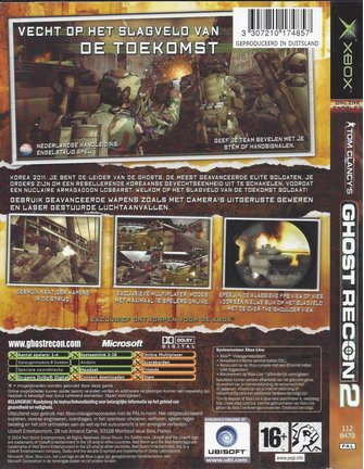 GHOST RECON 2 voor Xbox