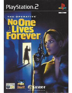 THE OPERATIVE - NO ONE LIVES FOREVER voor Playstation 2 PS2