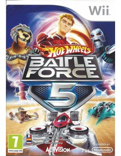 HOT WHEELS BATTLE FORCE 5 voor Nintendo Wii