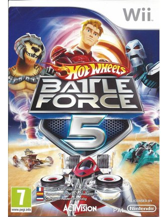 HOT WHEELS BATTLE FORCE 5 for Nintendo Wii
