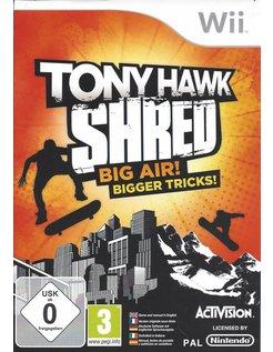 TONY HAWK SHRED voor Nintendo Wii