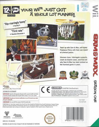 SAM & MAX SEASON ONE for Nintendo Wii