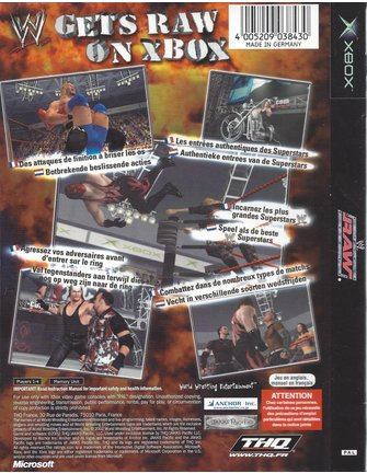 WWE RAW for Xbox