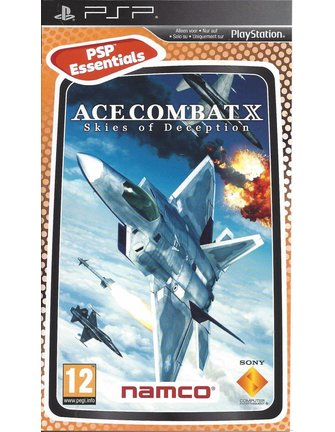 ACE COMBAT X SKIES OF DECEPTION for PSP - Essentials