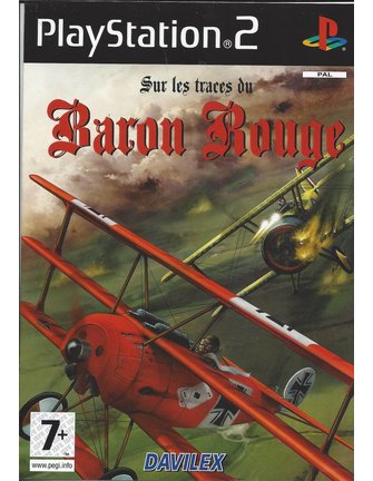 SUR LES TRACES DU BARON ROUGE for Playstation 2 PS2