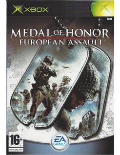 MEDAL OF HONOR EUROPEAN ASSAULT voor Xbox