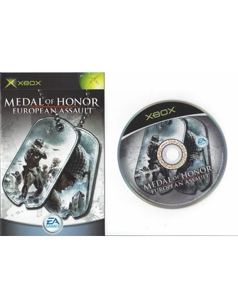MEDAL OF HONOR EUROPEAN ASSAULT for Xbox