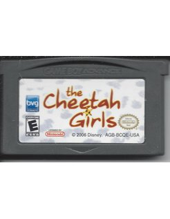 THE CHEETAH GIRLS voor Game Boy Advance