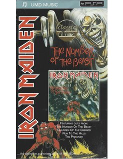 IRON MAIDEN THE NUMBER OF THE BEAST - UMD video for PSP