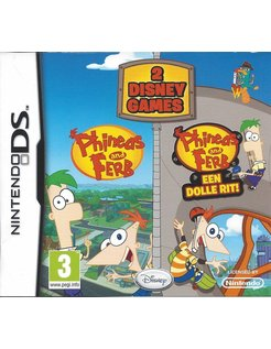 DUO PACK PHINEAS AND FERB 1 & 2 voor Nintendo DS