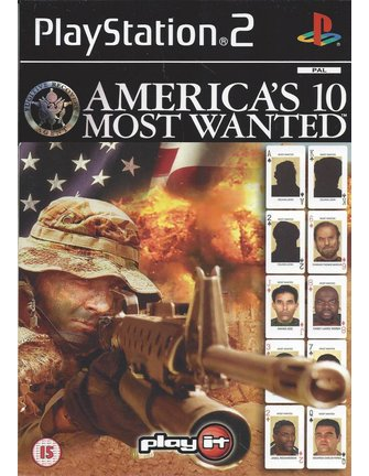 AMERICA'S 10 MOST WANTED voor Playstation 2 PS2