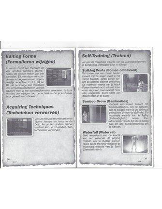 KENGO MASTER OF BUSHIDO voor Playstation 2 PS2