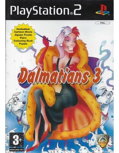 DALMATIANS 3 for Playstation 2 PS2