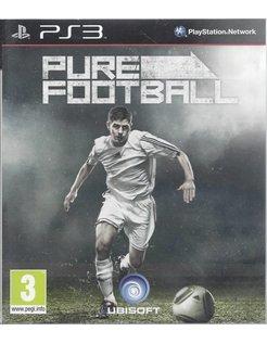 PURE FOOTBALL voor Playstation 3 - handleiding in het Engels