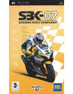 SBK-07 SUPERBIKE WORLD CHAMPIONSHIP for PSP