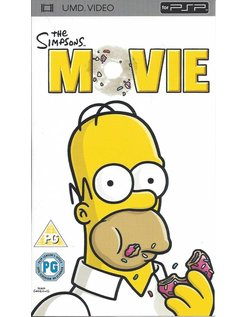 THE SIMPSONS MOVIE - UMD video for PSP