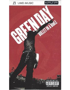GREEN DAY BULLET IN A BIBLE - UMD video for PSP
