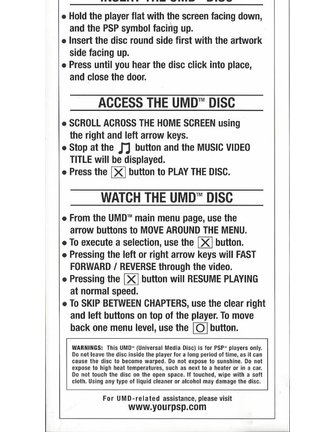 GREEN DAY BULLET IN A BIBLE - UMD video voor PSP