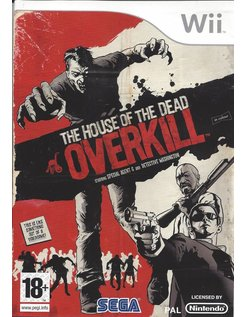THE HOUSE OF THE DEAD OVERKILL for Nintendo Wii