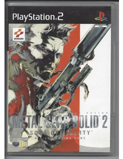 METAL GEAR SOLID 2 SONS OF LIBERTY for Playstation 2 PS2