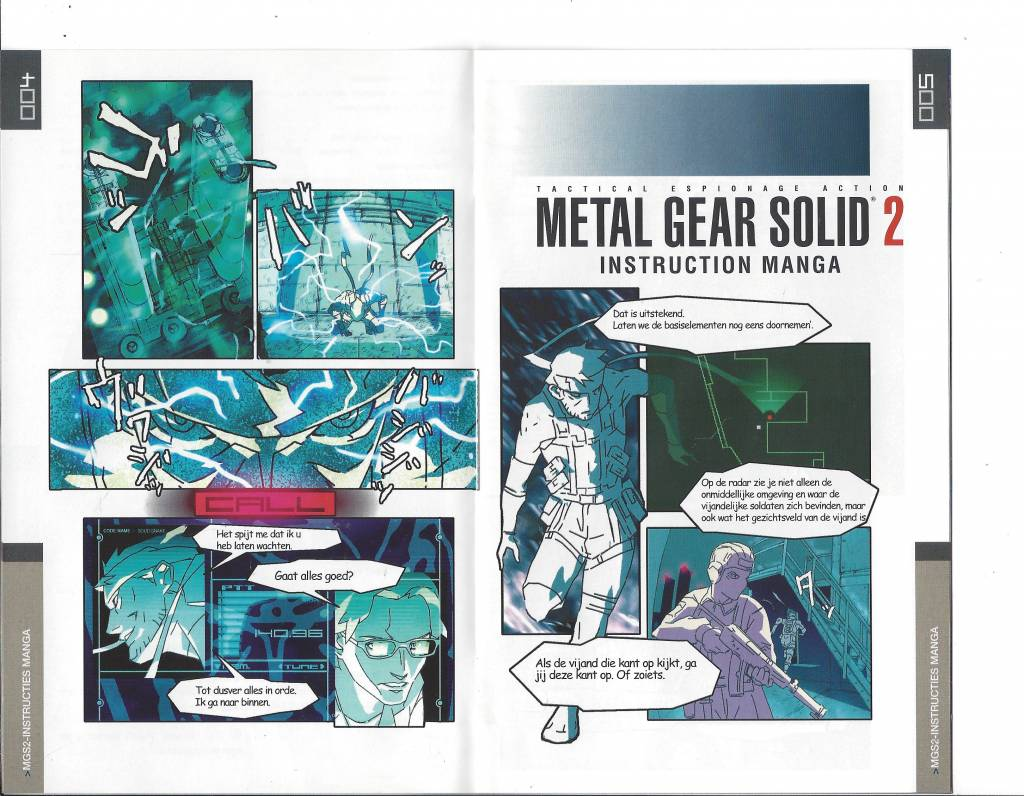 metal gear solid 2 sons of liberty for playstation 2 ps2 passion rh gamewebshop eu Metal Gear 2 Characters Metal Gear 3