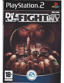 DEF JAM FIGHT FOR NY for Playstation 2 PS2 - manual in Dutch