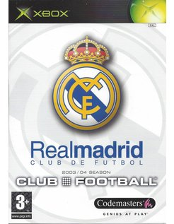 REAL MADRID CLUB FOOTBALL for Xbox