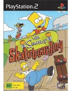 THE SIMPSONS SKATEBOARDING for Playstation 2 PS2