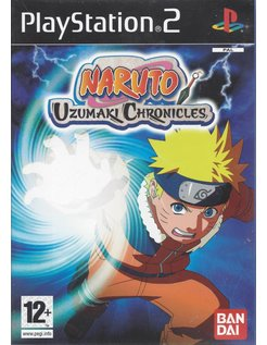NARUTO UZUMAKI CHRONICLES voor Playstation 2 PS2